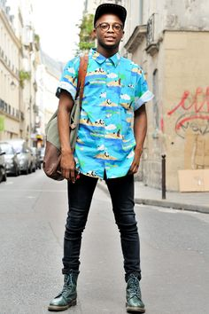 You Black Hipster! Style Indie, Style Hipster, Hipster Outfits, Fashion Outfits, Hipster Noir, Moda Hipster, Black Hipster, Dr. Martens, Indie Fashion