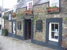 """Pint of Brains SA please"" Royal Oak Pub, Fishguard, Wales Royal Oak Pub, Historical Fiction Authors, British Pub, British History, Pembrokeshire Wales, Wales Uk, Group Tours, Day Tours, Great Britain"