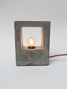 Arquitetos: Luminária Concreto CAD