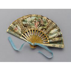 Bridesmaid's Fan-Late 19th Century.