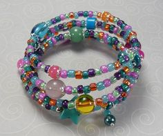 'Fiesta Wrap Bracelet' is going up for auction at 12pm Mon, Aug 6 with a starting bid of $10.