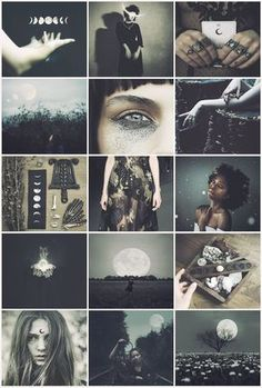 Lunar Witch aesthetic requested by @littleselenophile