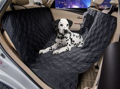 VIEWPETS Dog Car Seat Cover Waterproof Heavy Polyester Non-slip Pet Quilted Hammock Rear Seat Cover >>> Visit the image link more details. (This is an affiliate link) #DogCarriers