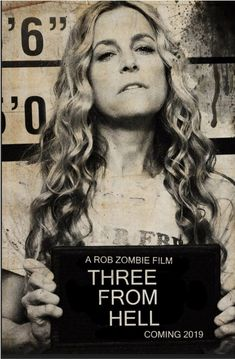 """We saved the best for last. In the words of Foxy """"Baby's back motherfuckers! """" The final character teaser THREE FROM HELL poster! Rob Zombie Film, Zombie Movies, Horror Movies, Zombie Pics, Scary Movies, Sheri Moon Zombie, The Devil's Rejects, Danny Trejo, Horror Pictures"""
