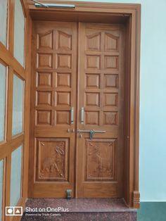 Doors, Wood, Wooden Doors, Duplex House Design, Door Manufacturer, Teak Wood, Wooden Door Design, Wooden Front Door Design, Main Door