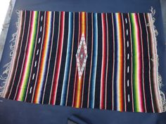 Mexican Serape A788 | Early California Antiques