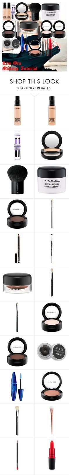 """Rita Ora Makeup Tutorial"" by oroartye-1 on Polyvore featuring beauty, MAC Cosmetics, Rimmel, Stila and Maybelline"