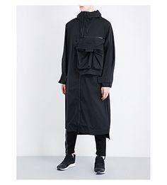 Y-3 Oversized Shell Jacket. #y-3 #cloth #coats & jackets