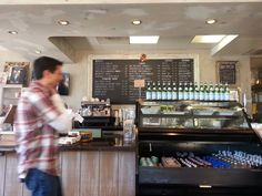Wild Strawberry Cafe - Newport Beach, CA, United States. Chalk board menu