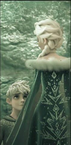 Jelsa, Jack Y Elsa, Jack Frost And Elsa, Elsa Frozen, Disney Frozen, Character Design Girl, Rise Of The Guardians, Queen Elsa, The Big Four