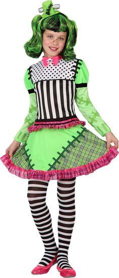9da297627b2d Costume mostro verde bambina Halloween e ancora molti vestiti halloween  bambini! Costume halloween bambino a