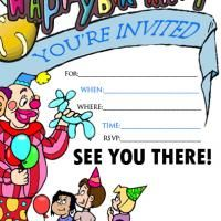 f6f1971e0637067d57bdc46c41bd7c66 childrens party invitations free printable birthday invitations 6th birthday party invitation birthday invitations pinterest,Invitation Birthday Card For Kids