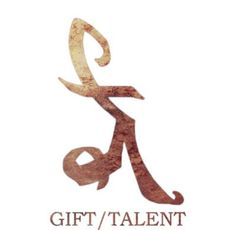 Gift/talent - marca de talento - instrumentos mortais