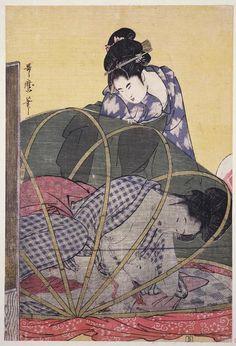 Horo-gaya = [Mosquitero para bebé] Kitagawa, Utamaro, 1753?-1806
