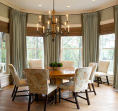 Dining room By Griffin Balsbaugh Interiors New Canaan CT Country House