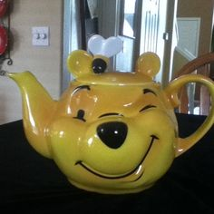 Cardew Collectibles Winnie The Pooh Face Teapot | eBay