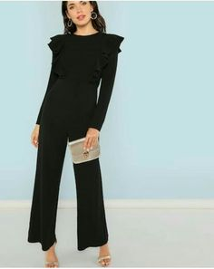 43db1f226daa Off Shoulder Contrast Binding Side Fitted Jumpsuit