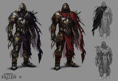 LOTF demonic rogue by len-yan armor shredded tabard and cloak cape | NOT OUR ART - Please click artwork for source | WRITING INSPIRATION for Dungeons and Dragons DND Pathfinder PFRPG Warhammer 40k Star Wars Shadowrun Call of Cthulhu and other d20 roleplaying fantasy science fiction scifi horror location equipment monster character game design | Create your own RPG Books w/ www.rpgbard.com
