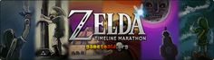 "Zelda Timeline Marathon - These guys are playing Legend of Zelda marathon to raise $5000 in support of Child's Play. It's a charity that provides children with games, toys, books, and such to distract them from the anxiety, fear, and pain of hospitals..  ""We're raising money for Child's Play, a fantastic charity which provide toys and games to sick children all over the world. Donations support seriously-ill children..."""