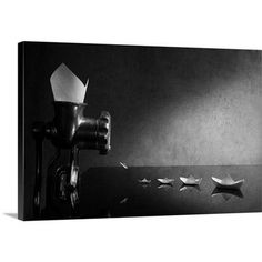 """Canvas On Demand The Origami by Victoria Ivanova Photographic Print on Canvas Size: 20"""" H x 30"""" W x 1.25"""" D"""