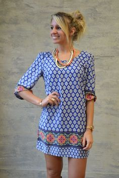 Piace Boutique - Flow in the Wind Shift Dress, $47.99 (http://www.piaceboutique.com/flow-in-the-wind-shift-dress/)