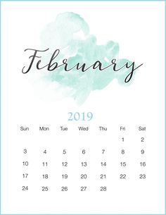 February 2019 Calendar Portrait Don't Miss: March 2019 Calendar Holidays March 2019 Calendar Template February 2019 Printable Calendar Portrait Related February Wallpaper, Calendar Wallpaper, Desktop Calendar, Calendar Pages, Wall Calendars, Screen Wallpaper, January Calendar, Cute Calendar, Print Calendar