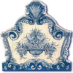 Portuguese Tiles Floral Murals