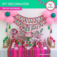 Llama Birthday, Happy Birthday, Birthday Cake, Birthday Parties, Alpacas, Ideas Para, Cactus, Baby Shower, Party