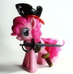 My Little Pony Pirates of the Caribbean Captain Pinky Pie Custom figure MLP OOAK #Hasbro