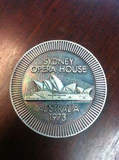 Medallion The Official Opening Of The Sydney Opera House HM Queen Elizabeth II | eBay