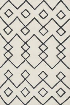 Adler Ivory Area Rug - Loloi - $540 - domino.com