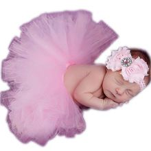 Newborn Photography PropsHot Baby Toddler Girl Tutu Skirt&Headband Photo Prop Costume Outfit For Baby Christmas Gifts W1(China (Mainland))