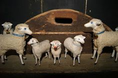 I love these German sheep and I collect them.