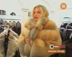 sexy blonde fur