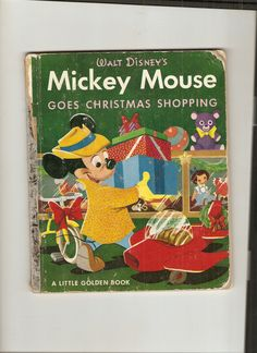 Vintage Little Golden Book Mickey Mouse