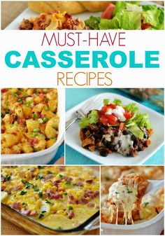 20+ Must-Have, Must-Make Casserole Recipes. And most of them can be prepped in less than 20 minutes!