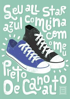 a menina do all star azul Music Love, Music Is Life, Cute Posts, Music Clips, Crazy Quotes, Life Goes On, Just Dance, Quote Posters, Converse All Star