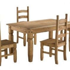 Premium Corona Mexican Pine | Dining Table And 6 Chairs | Dining Table Chairs Premium Corona Mexican Pine | Dining Table And 6 Chairs | Dining Tabu2026  sc 1 st  Pinterest & Premium Corona Mexican Pine | Dining Table And 6 Chairs | Dining ...