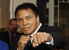Muhammad Ali from Celebrity Deaths: 2016's Fallen Stars  Thethree-time world heavyweight champion heavyweight boxing champion, one of the most famous pop culture iconsof his time, died at age 74 on June 3.