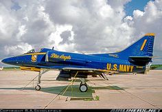Blue Angel A-4 Skyhawk