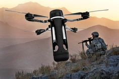 "(Image composite, DefendTex / US Army photo by Tia Sokimson) ""Drone produced by Melbourne-based defense technology firm Defend Tex, is a drone whose niche involves … Drone Technology, Cool Technology, Military Gear, Military Weapons, Airsoft, Drone Model, Future Weapons, Live Wire, Guns And Ammo"