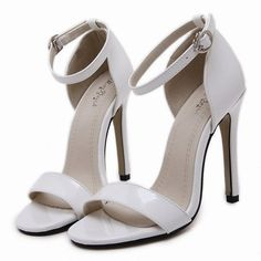 JOJOCAT SANDAL HEELS STRAP WHITE RED BLACK VEGAN LEATHER SPRING 2017 (€60) ❤ liked on Polyvore featuring shoes, sandals, heels, heeled sandals, white flats, black flat shoes, red shoes and black flats
