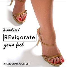 brazzcare_official REinvigorate your feet with BrazzCare!  The emollient cream has invigorating, moisturizing and softening properties that provide maximum comfort when doing the manicure  Learn more at www.brazzcare.com  #brazzcare #professionalnails #balbcare #nails # intelligence #nails #feet #manicure # pedicure #nailbar #nailcenter #aesthetic #aestheticproduct #brazzcaremanicure #brazzcarepedicure # Professional Nails, Short Film, Nail Colors, Pedicure, Joy, Cream, Summer, Wedding Bride, Wedding