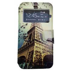 Funda Con Tapa Tipo Libro Para Samsung Galaxy J7 2017 Torre Eiffel