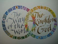 Cheryl Dyer Calligraphy piece. Wish I could commission one!