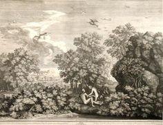 Le Printemps (1660-1664) - Gravure d'Audran