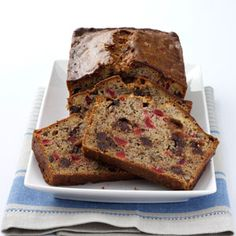 Christmas Banana Bread very similar to a bread baked by my husband's grandmother