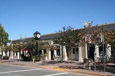 Grant Avenue, downtown Novato - Marin County, CA