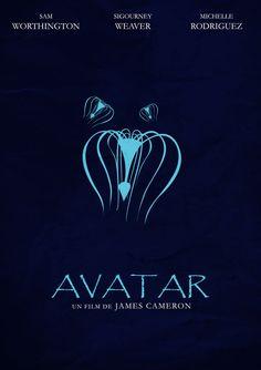 Avatar Creativos y minimalistas posters de películas