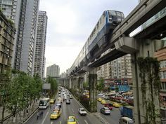 Chongqing Metro | Chongqing Rail Transit, China — The Chongqing Rail Transit (CRT) also known as Chongqing Metro, is a 75 km rapid-transit system, serving the city of Chongqing in China. It has been in operation since 2005 and serves the needs of nearly 32 million people.